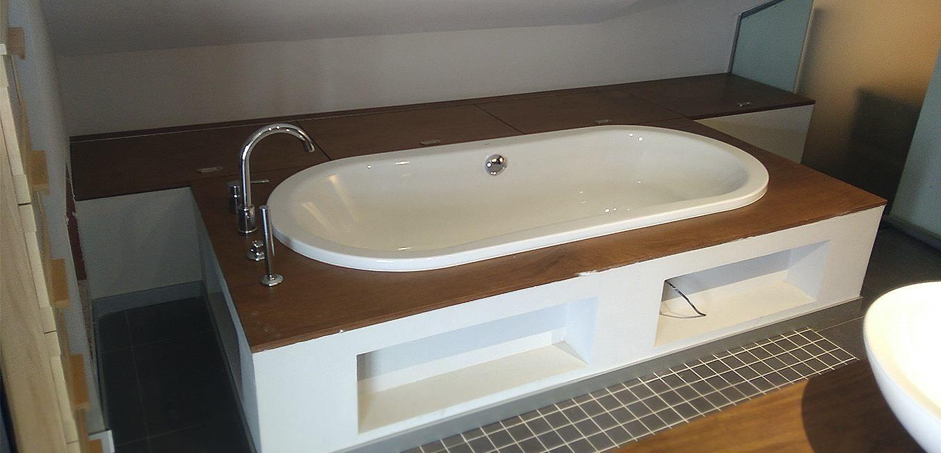 Diseño de Bañera Moderno