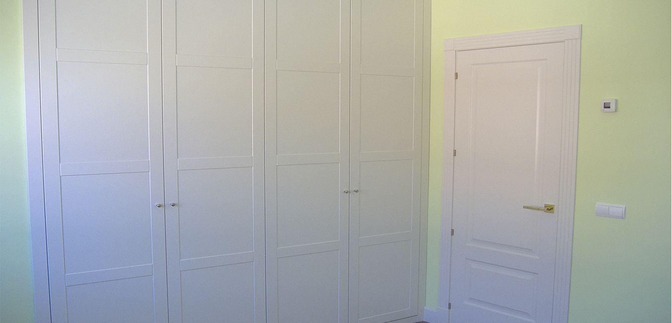 Armario 4 puertas abatibles