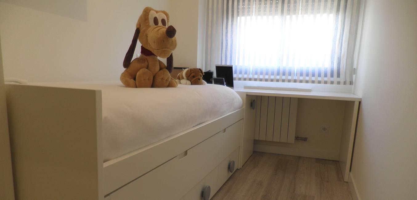 Diseño dormitorio infantil