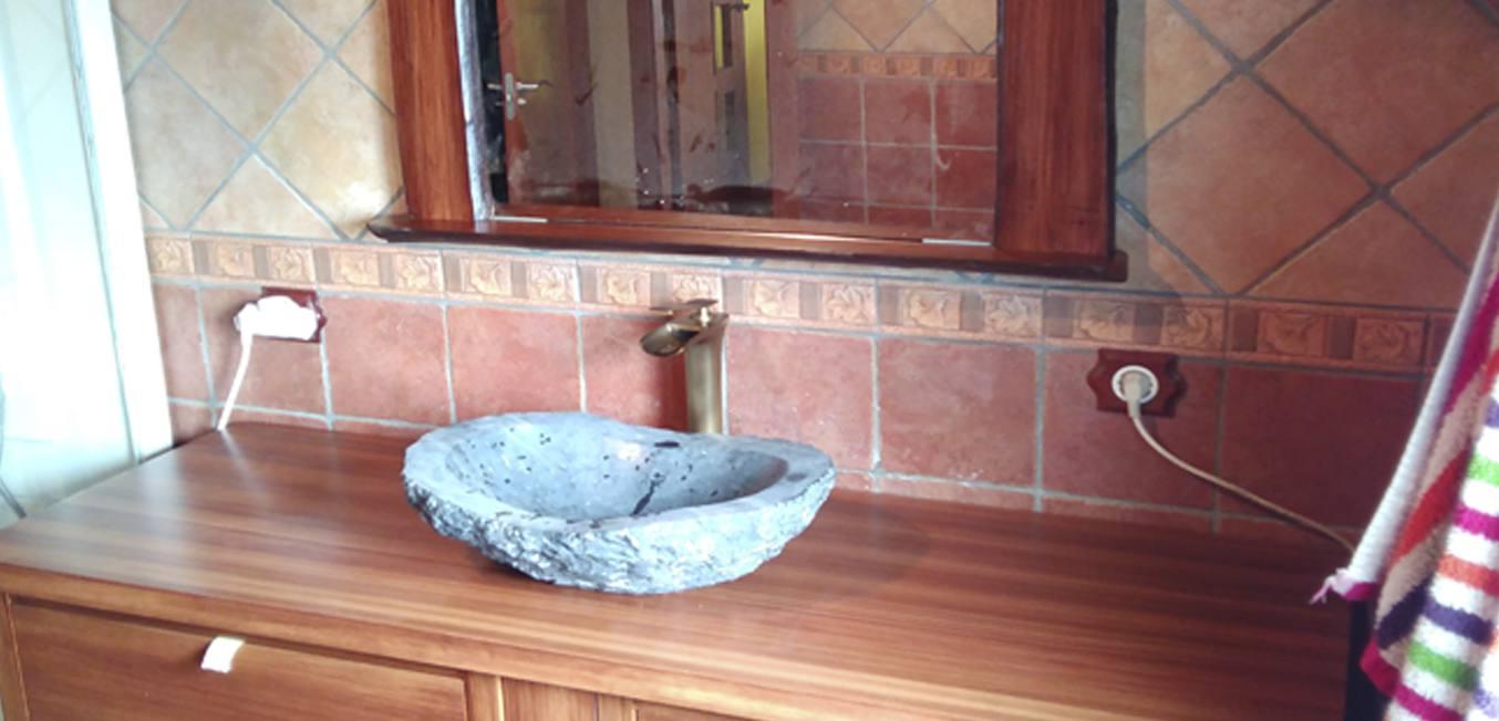 Mueble Baño Lavabo efecto Piedra galeria
