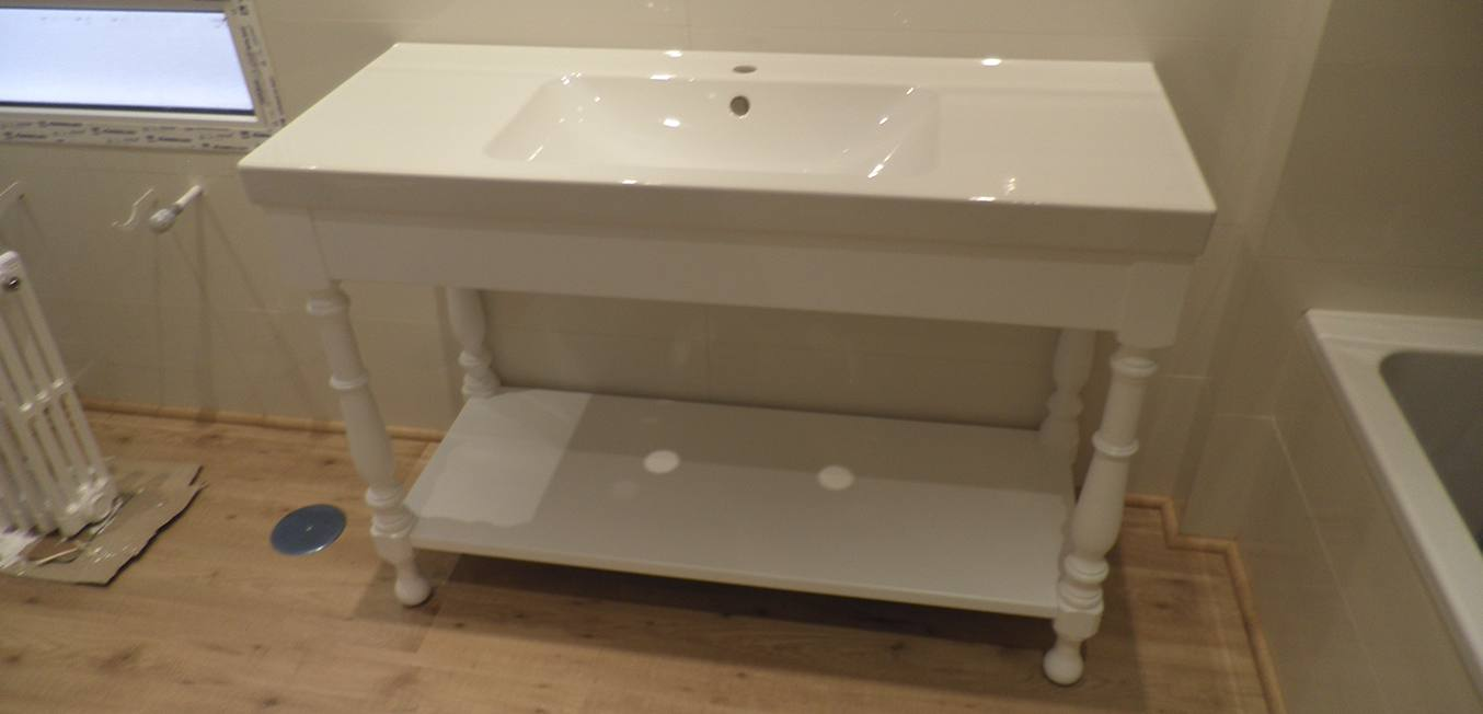 Muebles de Lavabo Blanco