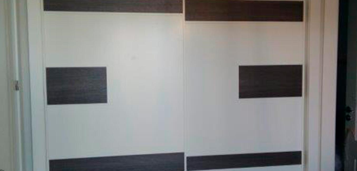Galería – Armario diseño personalizado blanco y wengué